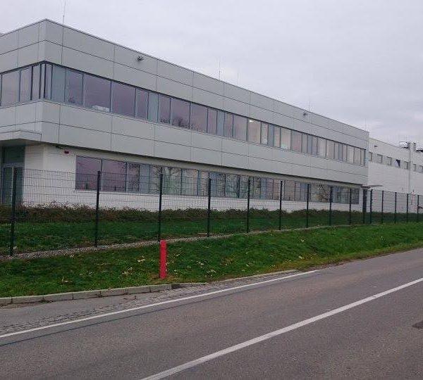 Oplocení firmy Fischer - Ivanovice