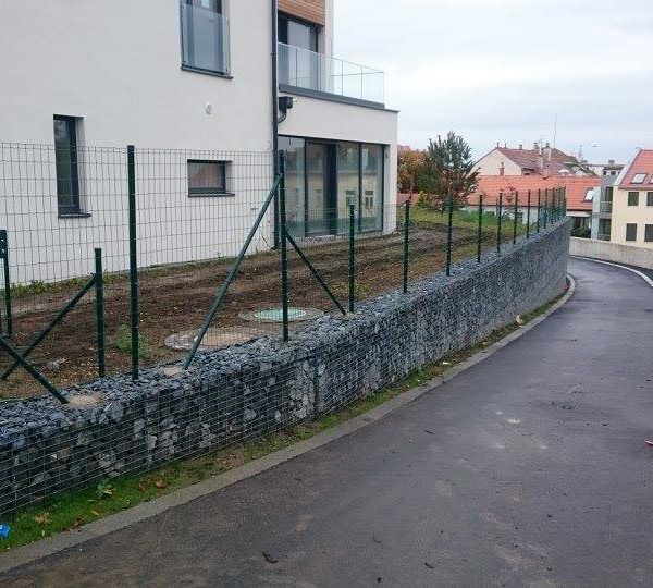 Oplocení BD Praha 6 Břevnov Residence La Crone